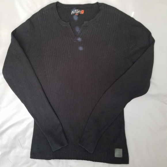 Guess Other - Guess mens ribbed cotton sweater